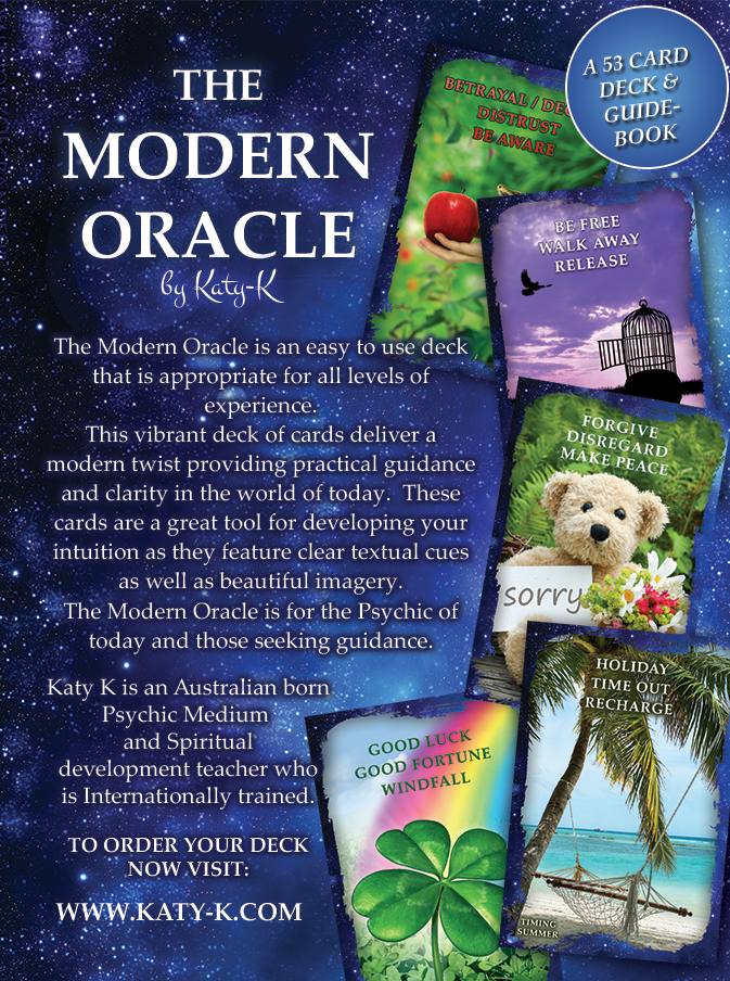 The modern oracle - 53 card deck and guidebook