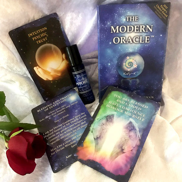 The modern oracle deck and psychic enhancer oil