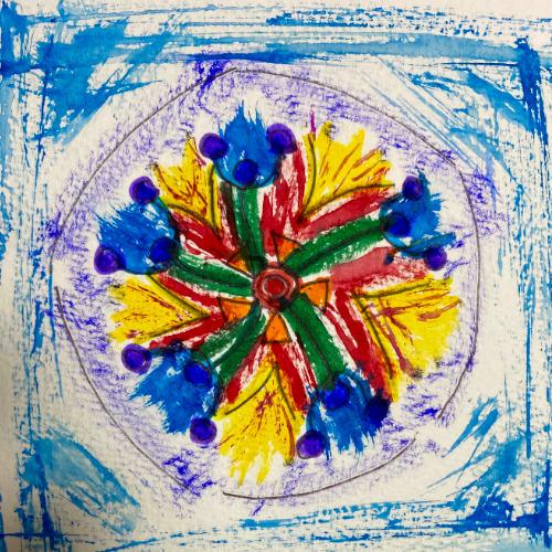 personalised healing mandala by katy-k