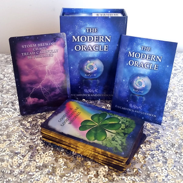 The Modern Oracle - 53 card deck and guidebook for the modern psychic