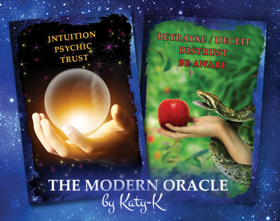 The Modern Oracle Cards workshop by Katy-K