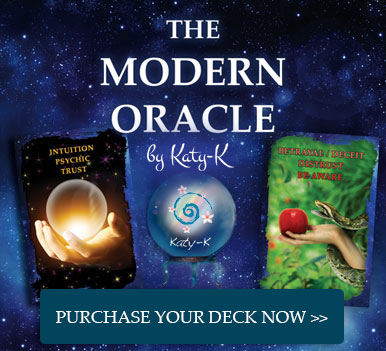 Purchase the modern oracle deck by katy k today