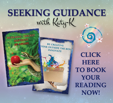 Book your reading - seeking guidance with katy k - book your psychic readings online and in person today - based in Hervey Bay, QLD