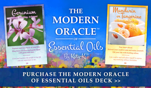 The Modern Oracle of Essential Oils by Katy-K