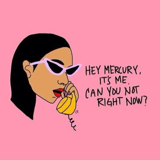 mercury in retrograde meme